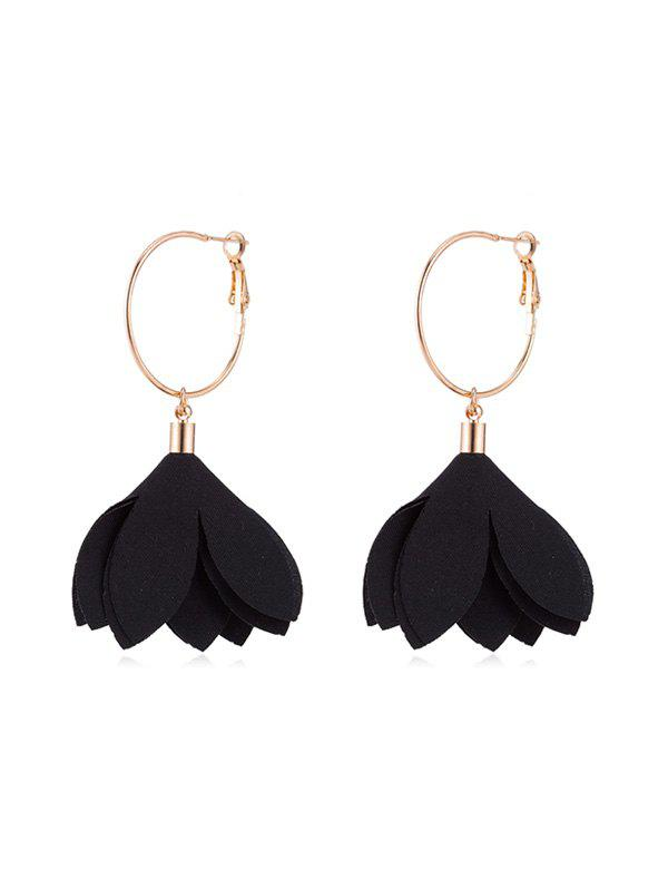 Outfits Floral Decoration Drop Earrings
