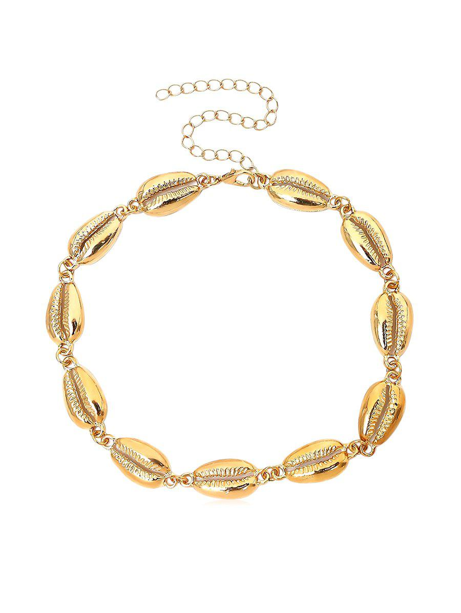 Online Short Shell Shape Necklace