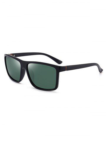 Simple Style Polarized Solid Frame Sunglasses