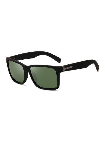 Rectangle Simple Style Outdoors Polarized Sunglasses