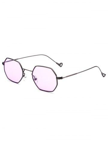Irregular Outdoor Metal Sunglasses