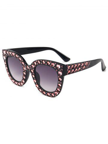 Chic Rhinestone Decoration Sunglasses