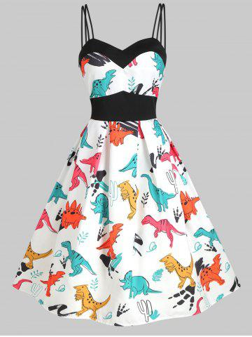 Dinosaur Cami Empire Waist Dress