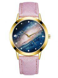 Cosmic Galaxy Starry Glass Quartz Watch -