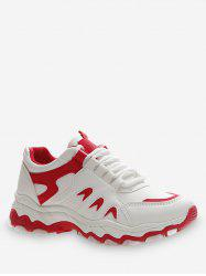 Casual Lace-up Design Sport Shoes -