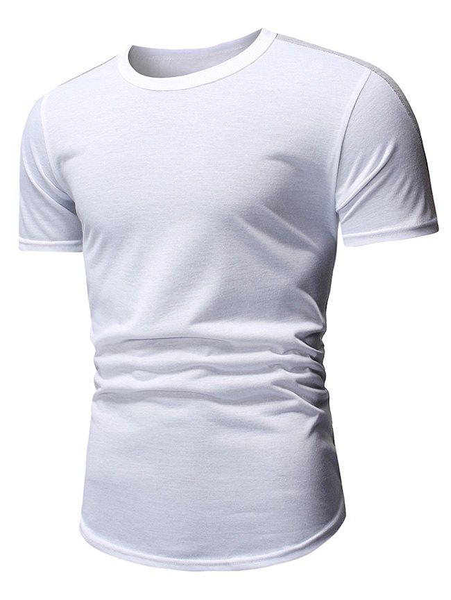Shop Casual Style Round Neck T-shirt