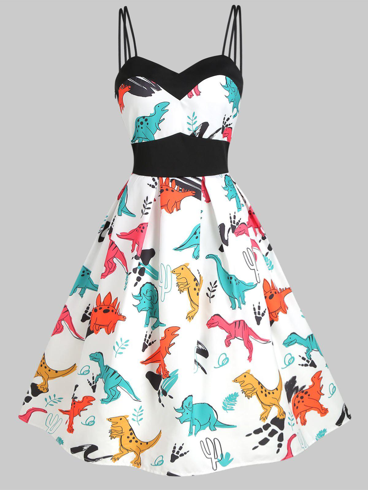 Outfits Dinosaur Cami Empire Waist Dress