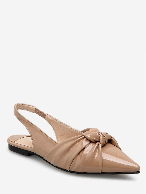 Affordable Chic Pointed Toe Flat Sandals