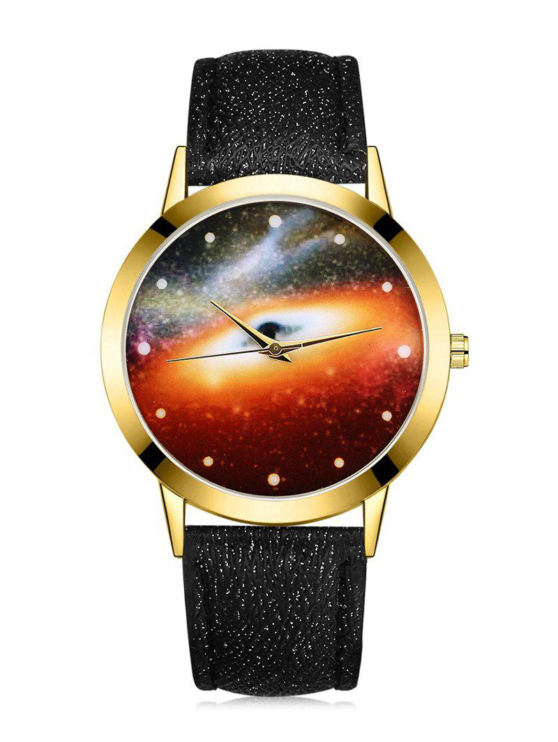 Best Black Hole Mirror Galaxy Quartz Watch