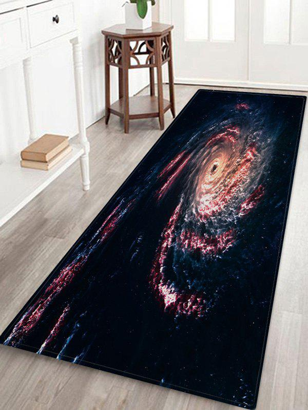 Outfits Galaxy Black Hole Print Antiskid Area Rug
