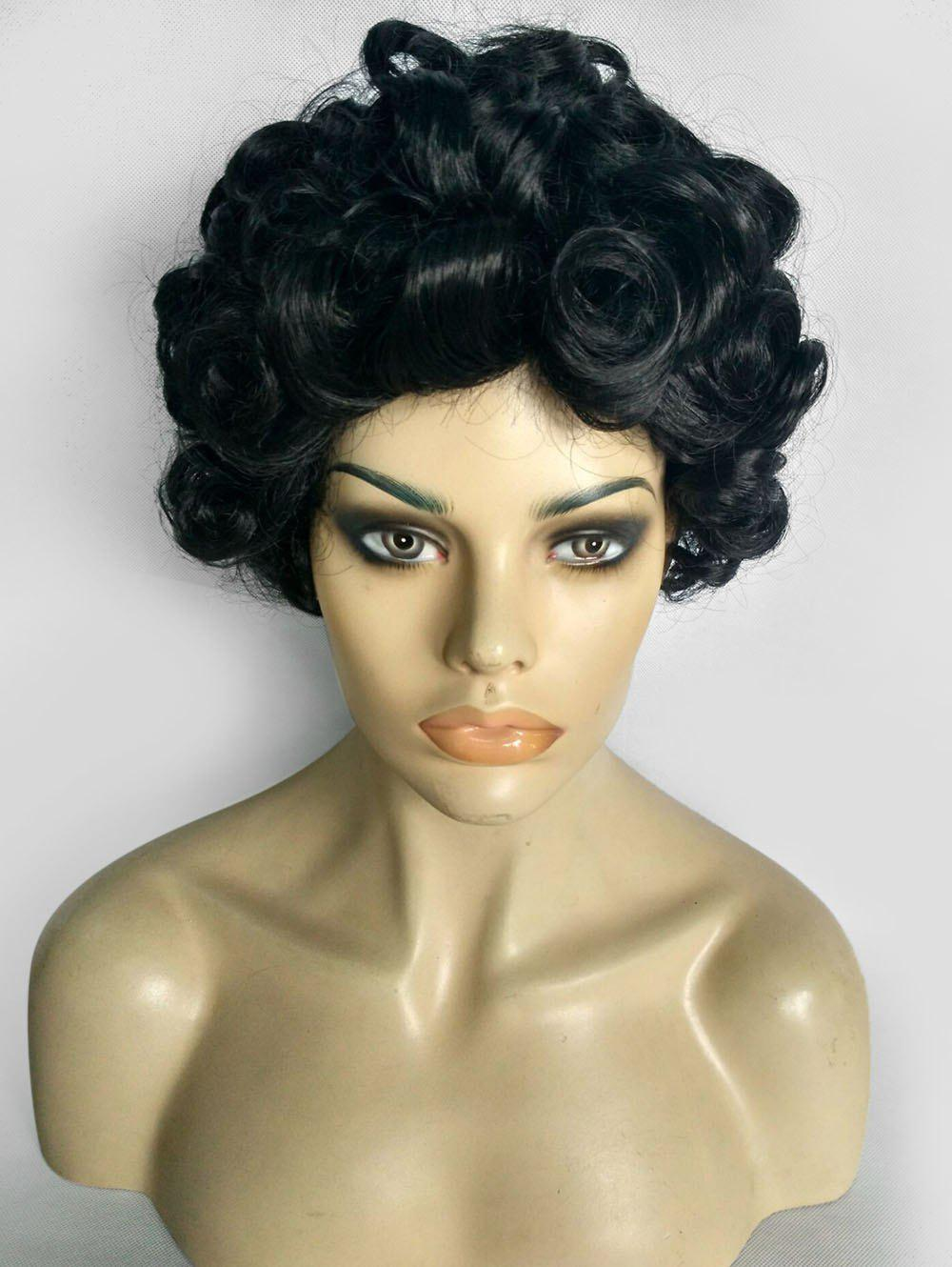 Sale Curly Short Fluffy Synthetic Wig