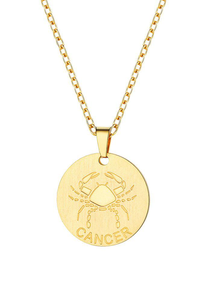 Best Horoscope Coin Pendant Necklace