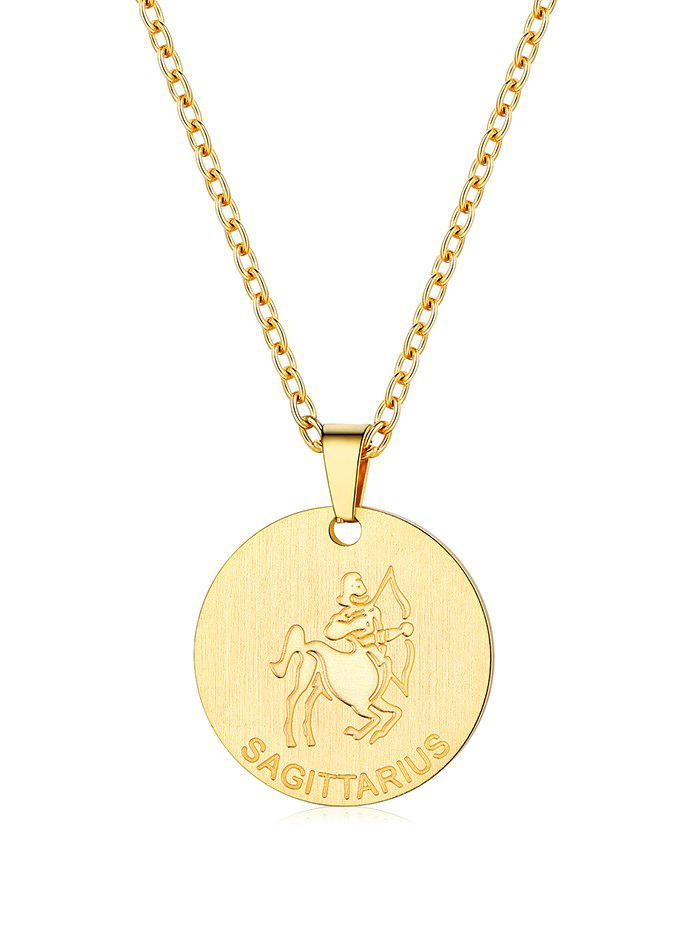 Buy Horoscope Coin Pendant Necklace