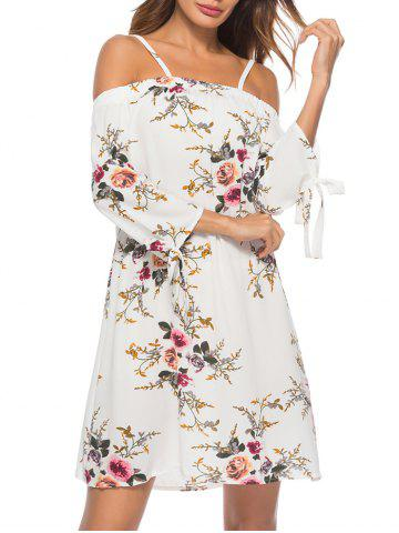 Floral Printed Cami Mini Dress