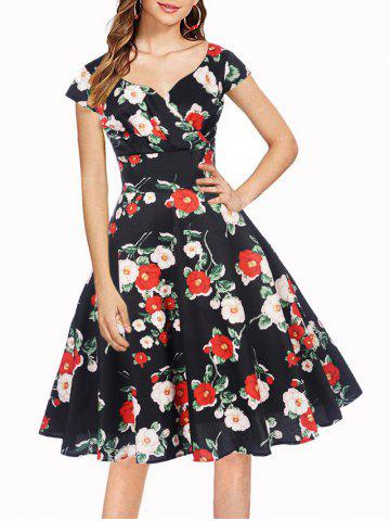 Flower Sweetheart Prom Dress