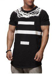 Thorns Number Print Casual T-shirt -