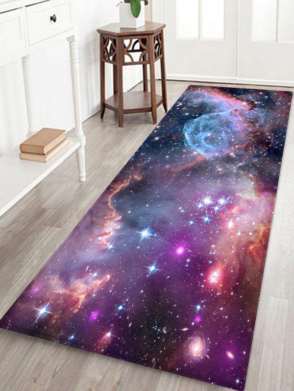 Affordable Universe Starry Sky Pattern Floor Mat