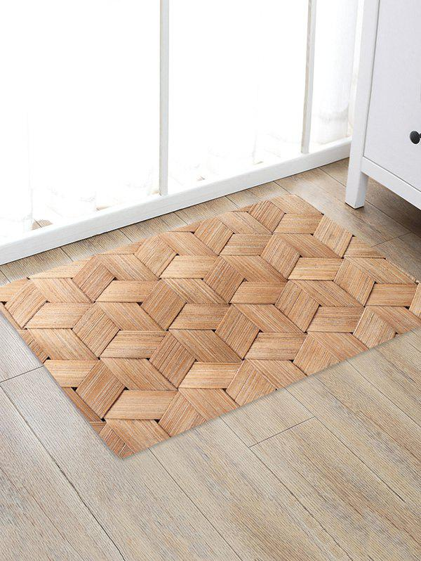 Sale Bamboo Weaving Pattern Water Absorption Area Rug