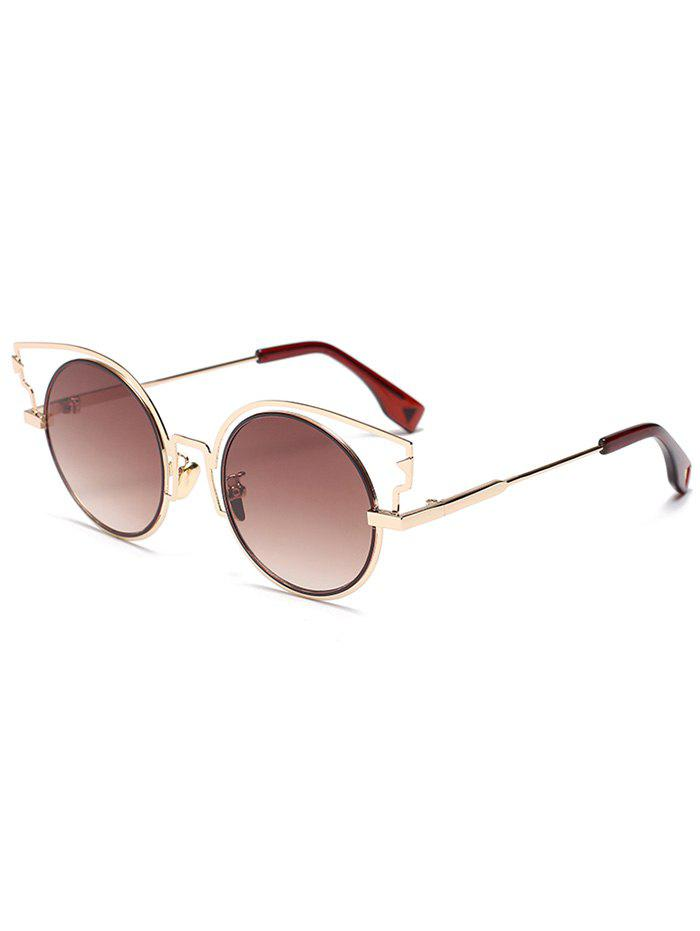 Outfit Catty Eye Round Lens Sunglasses