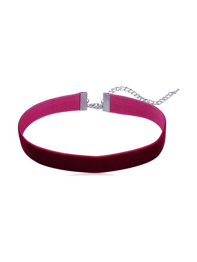 Best Punk Fleece Wide Choker Necklace