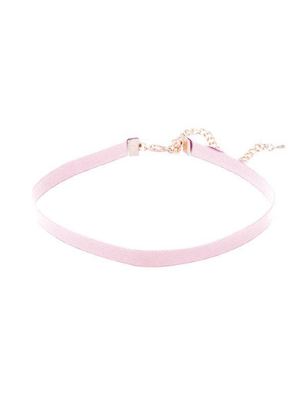 Shops Brief PU Choker Necklace