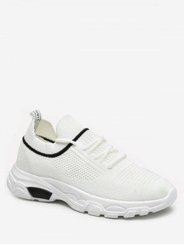 dfce96e90fc Casual Lace-up Design Sport Sneakers