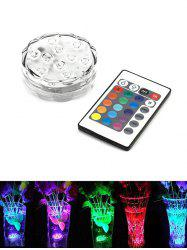 Color Changing Round Decorative LED Night Light -