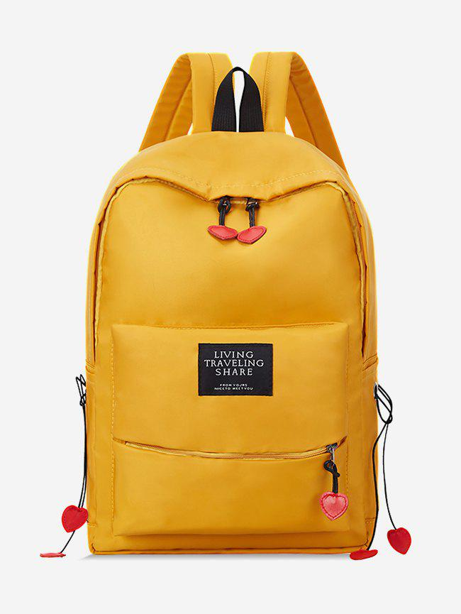 Cheap Chic Letter Design Backpack
