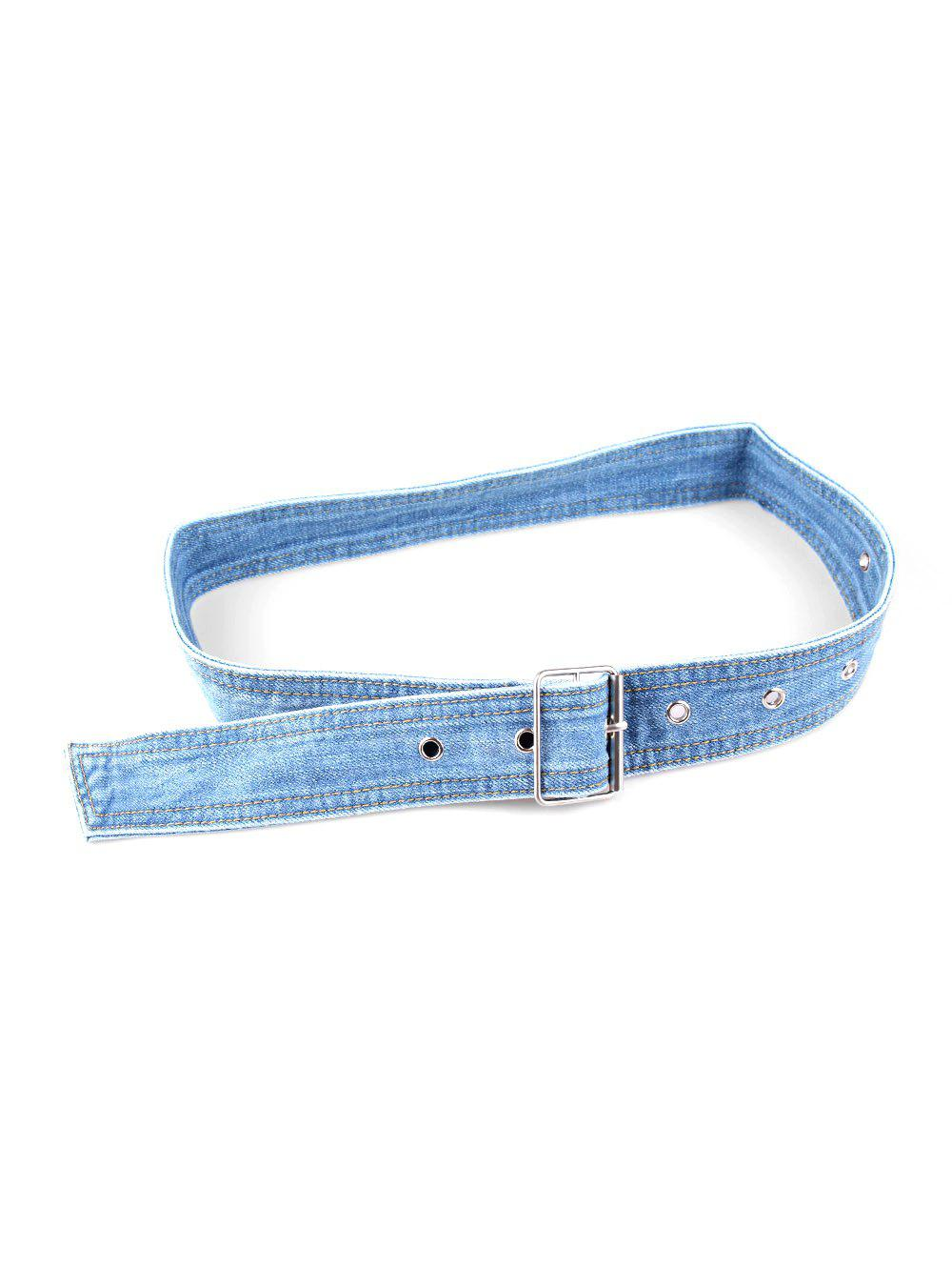Shop Pin Buckle Casual Denim Belt