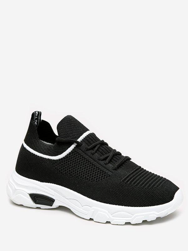 Discount Casual Lace-up Design Sport Sneakers
