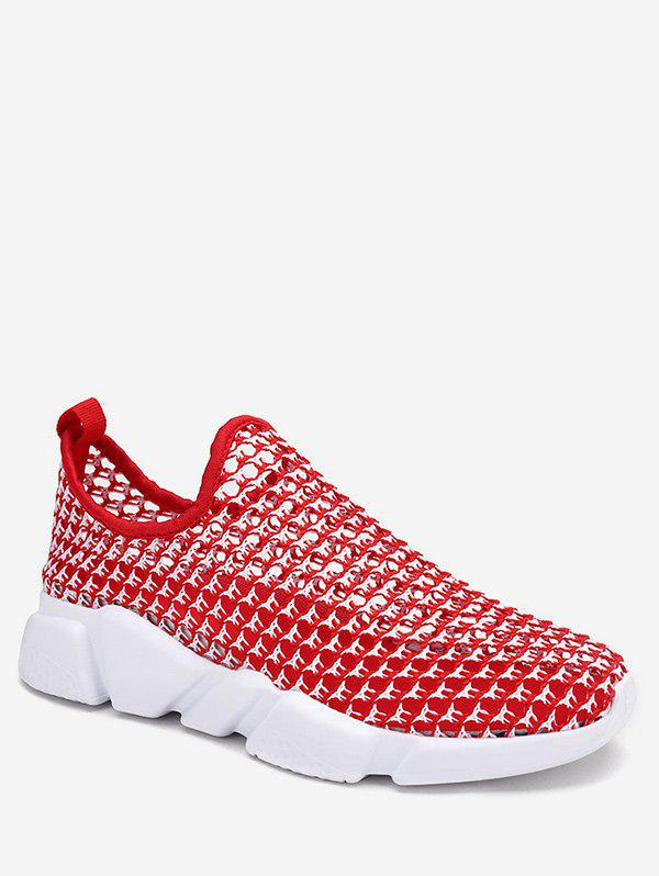 Cheap Hollow Out Breathable Running Shoes