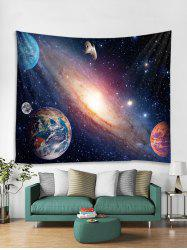 Galaxy Planet Black Hole Print Wall Art Tapestry -