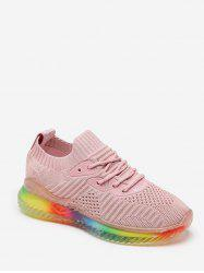 Breathable Lace-up Design Sport Sneakers -