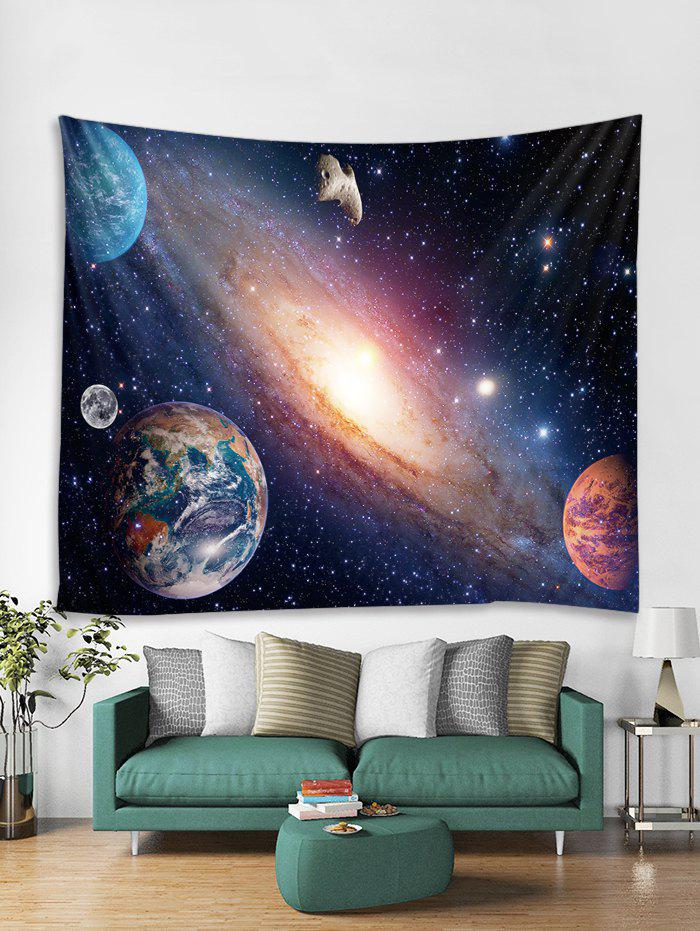 Latest Galaxy Planet Black Hole Print Wall Art Tapestry