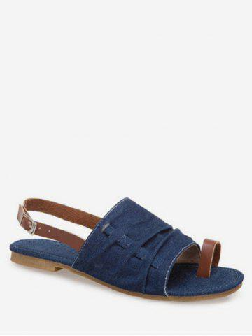 Denim Comfortable Flat Sandals