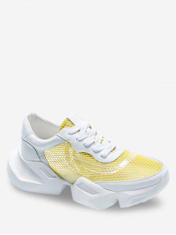 e5a958bfe8b Mesh Breathable Lace-up Sneakers