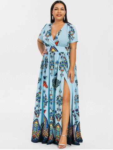 Light Blue Plus Size Dress - Free Shipping, Discount And ...
