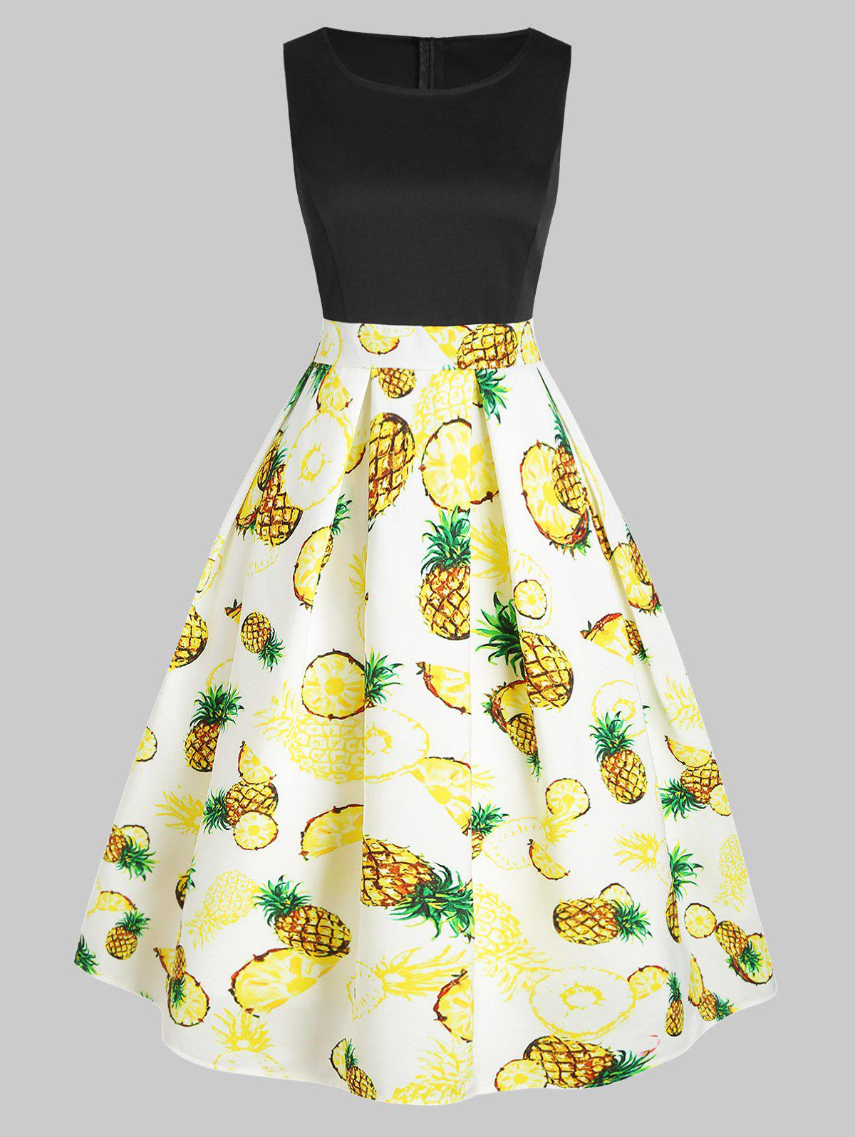 fe501a79ab 32% OFF  Pineapple Prom Dress