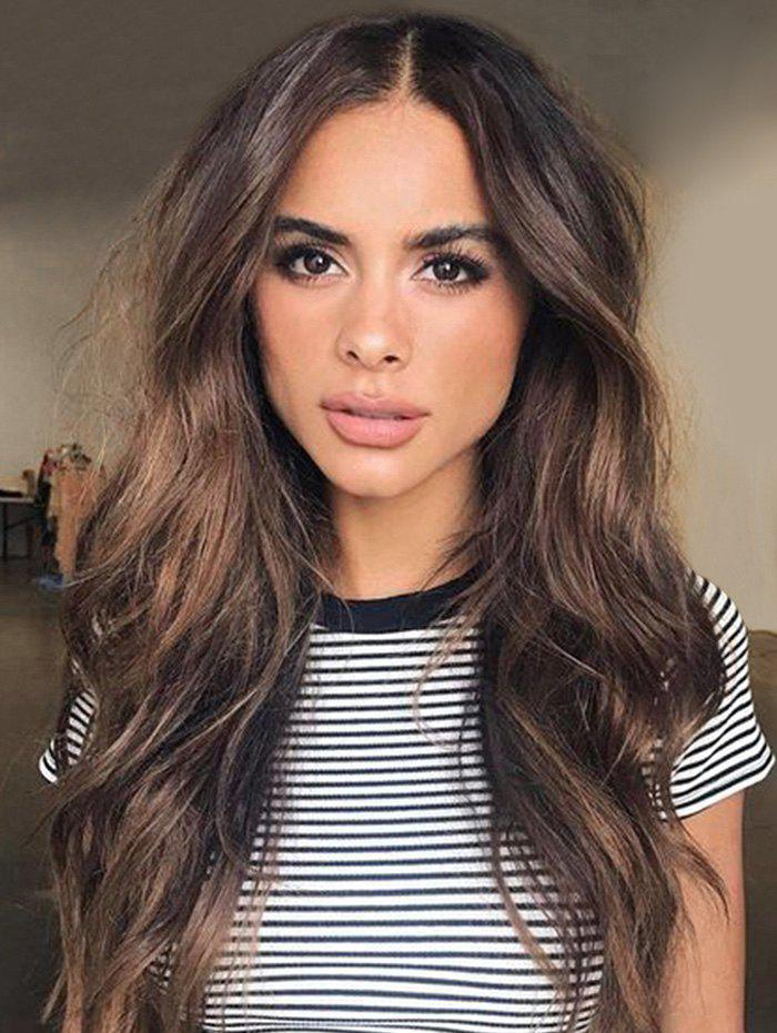 Sale Center Part Long Body Wavy Synthetic Wig