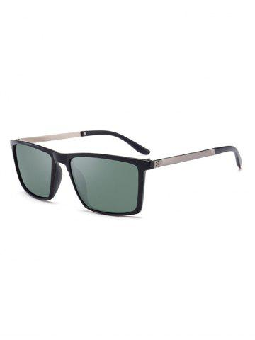 Classic Rectangle Polarized Sunglasses
