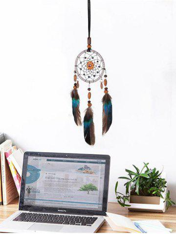 Dream Catcher Floral Feather Hanging Decor