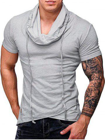 Solid Color Leisure Short Sleeves T-shirt