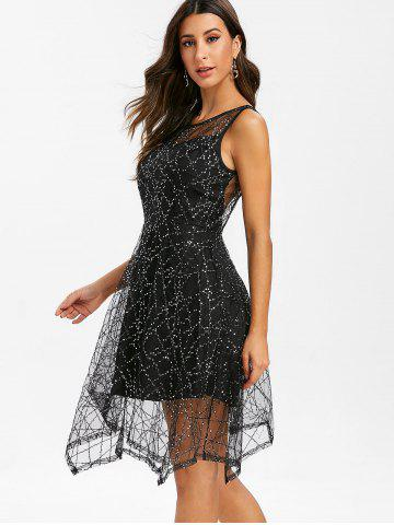 ec77a7e9 Scoop Neck Sequin Dress - Free Shipping, Discount And Cheap Sale ...