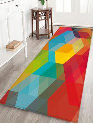 Geometric Pattern Floor Mat -