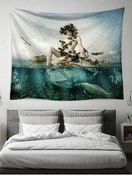Ocean Beauty Print Tapestry Wall Hanging Art Decoration -