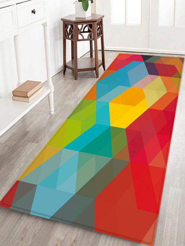 Outfits Geometric Pattern Floor Mat