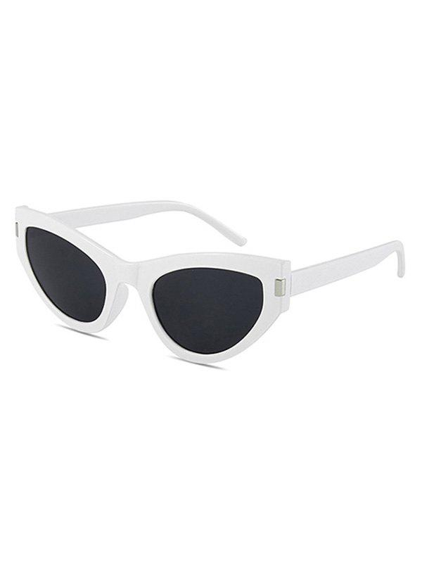 Chic Full Rim Kitty Eye Sunglasses