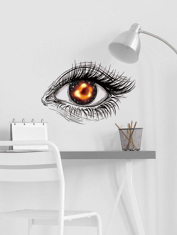 Black Hole Eye Print Removable Wall Art Stickers