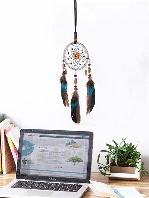 Fancy Dream Catcher Floral Feather Hanging Decor