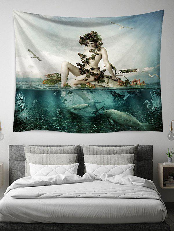 Outfits Ocean Beauty Print Tapestry Wall Hanging Art Decoration
